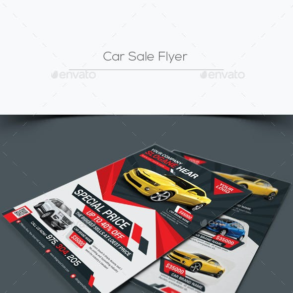 Car Sale Flyers