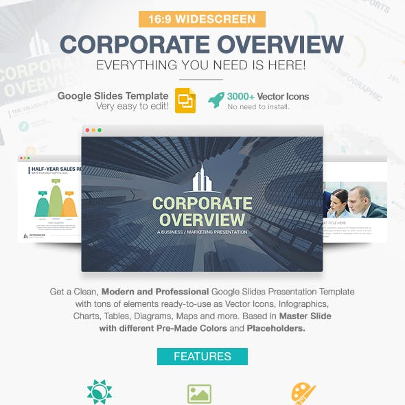 Corporate Overview Google Slides Template