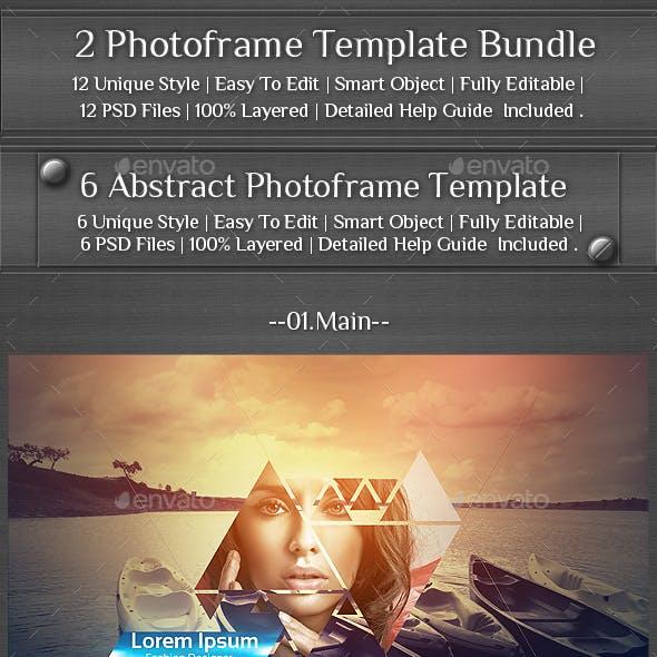 2 Photoframe Template Bundle