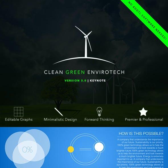Clean Green Envirotech Keynote Presentation