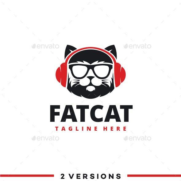 DJ Cat Logo