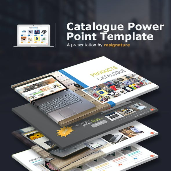 Catalogue Power Point Presentation