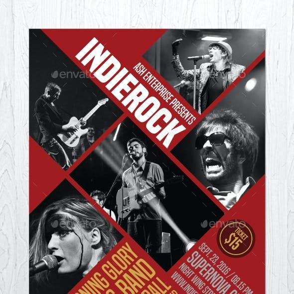 Indie Rock Vol. 3 Flyer