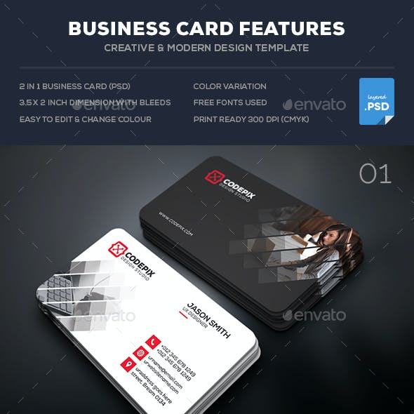 Corporate Business Card Bundle