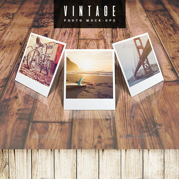 Vintage Photo Mock-Up