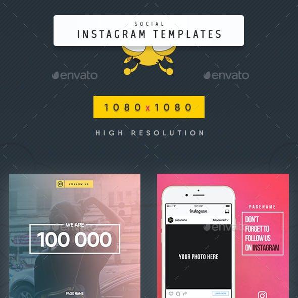 Social Instagram Templates