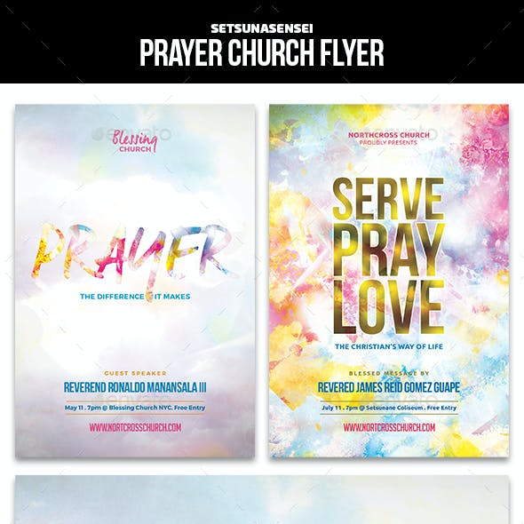 Prayer Church Flyer