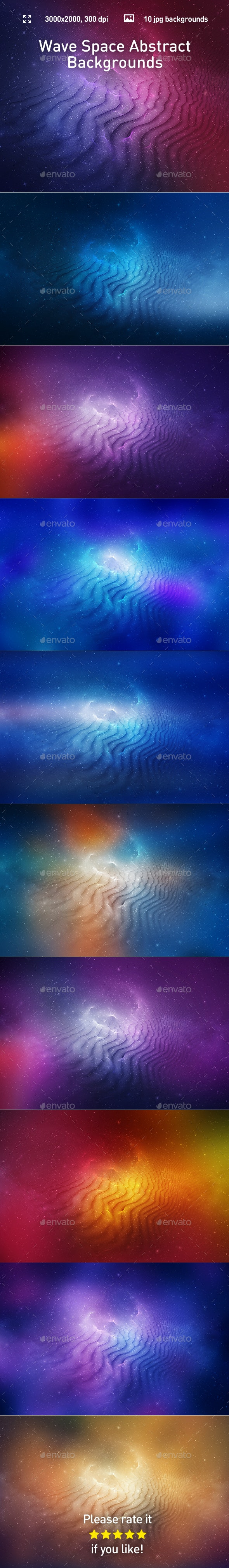 Space Abstract Backgrounds - Abstract Backgrounds
