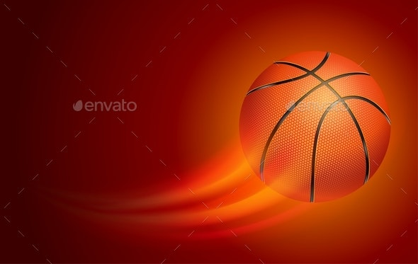 Basketball Card - Sports/Activity Conceptual