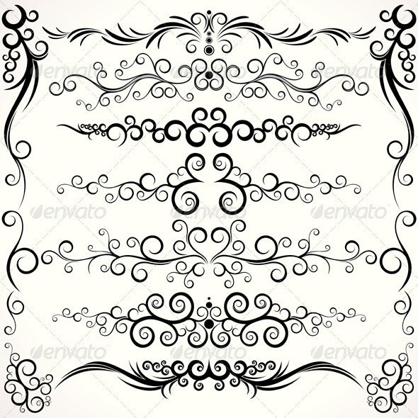 Ornamental Borders - Borders Decorative