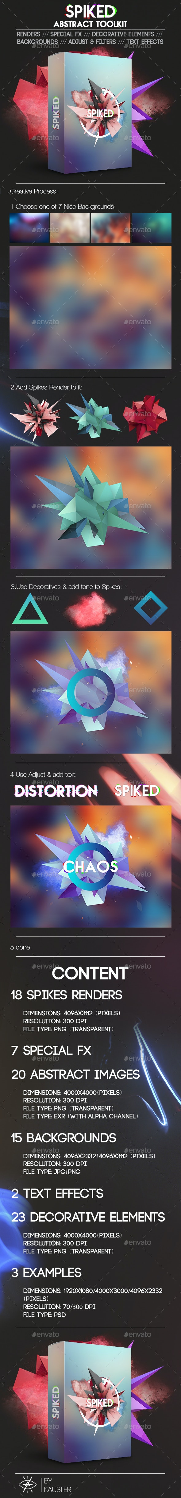 Spiked - Decorative Graphics