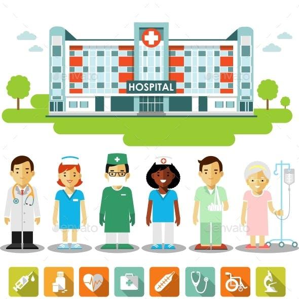 Medicine InfographicSet
