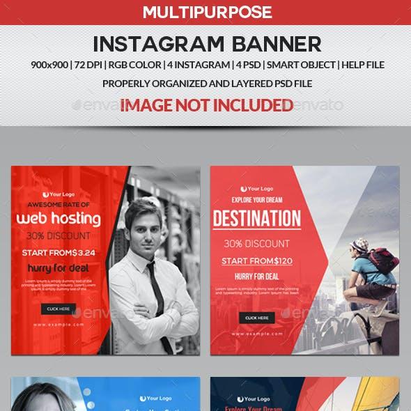 Multipurpose Instagram - 4 Design