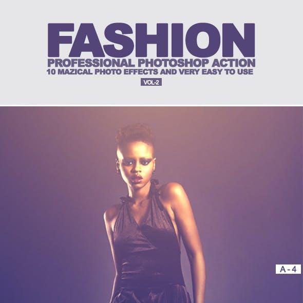 10 Fashion Photoshop Action