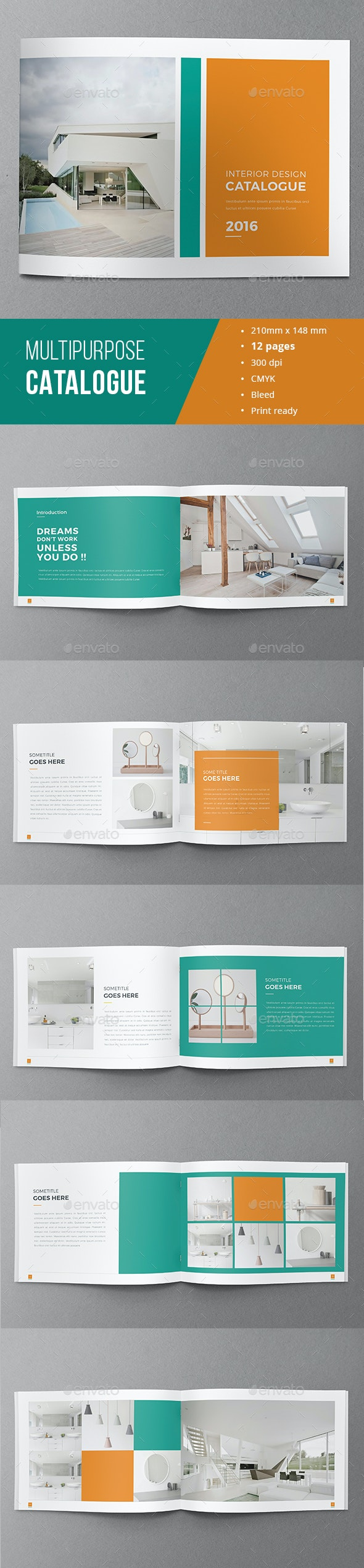 Minimal Catalogue Brochure 02  - Catalogs Brochures
