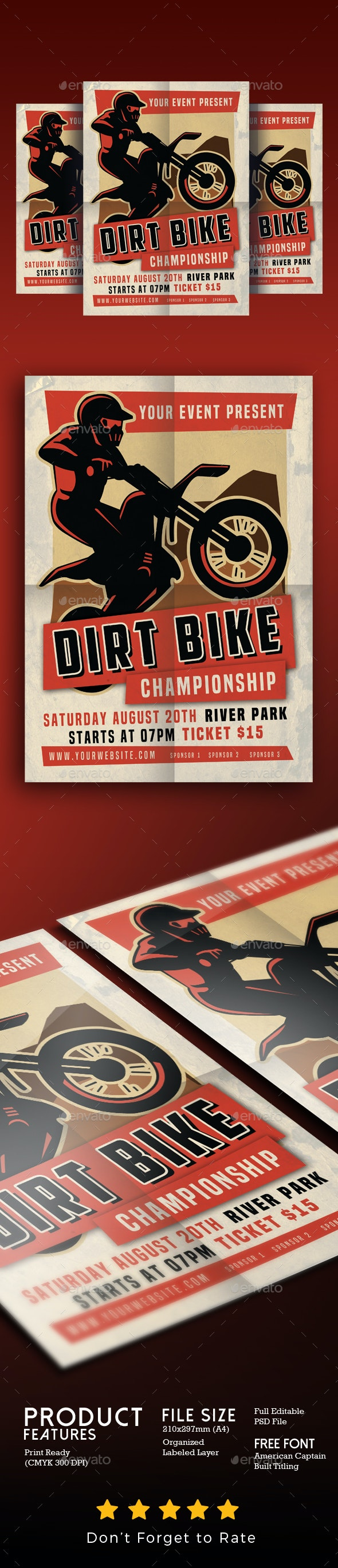 Dirt Bike Motorcross Championships Sports - Sports Events