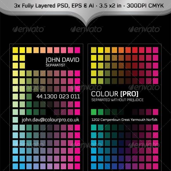 Colour Pro Business Card