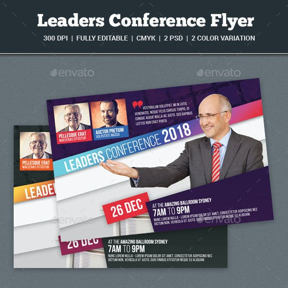 Leaders Conference Flyer