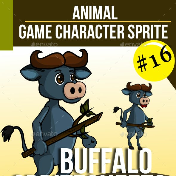 Game Asset : Buffalo