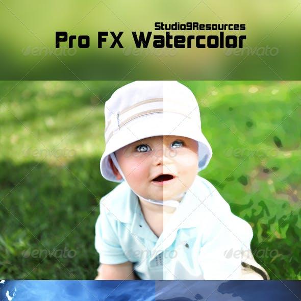 Pro FX Watercolor