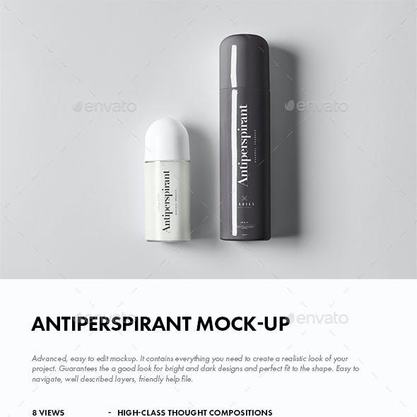 Antiperspirant Mock-up