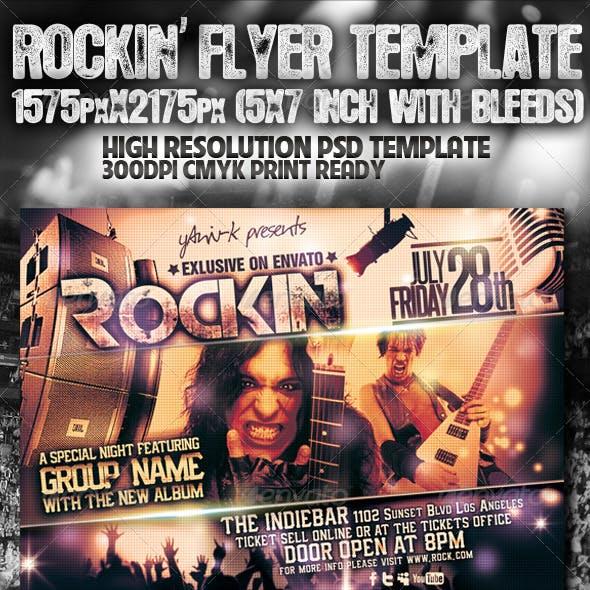 Rockin' Flyer Template