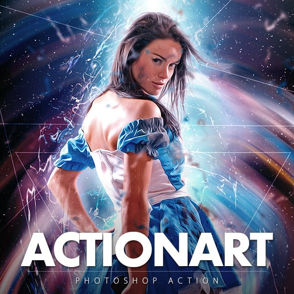 Actionart Photoshop Action