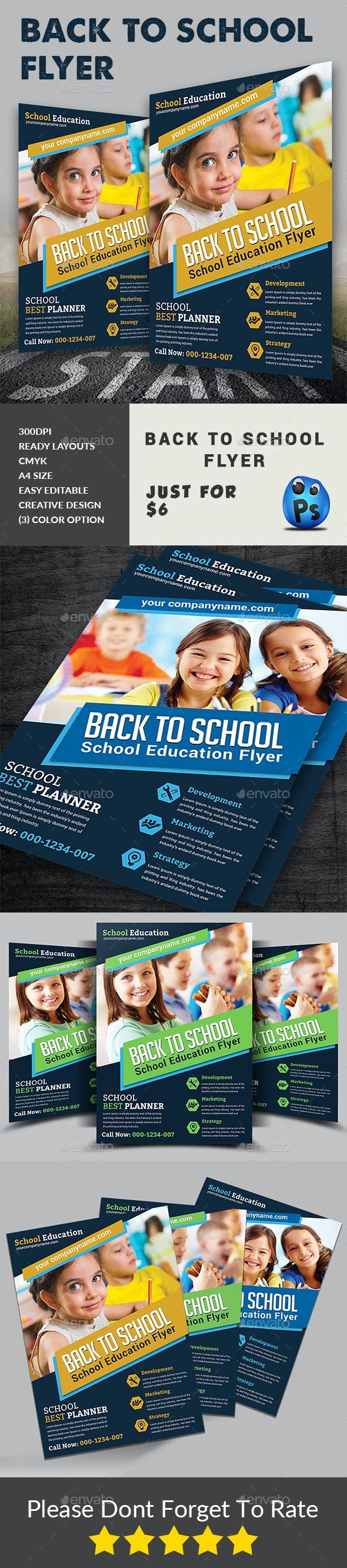 Back to School Flyer - Corporate Flyers