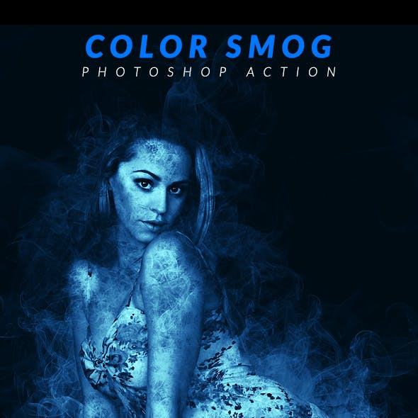 Color Smog Photoshop Action