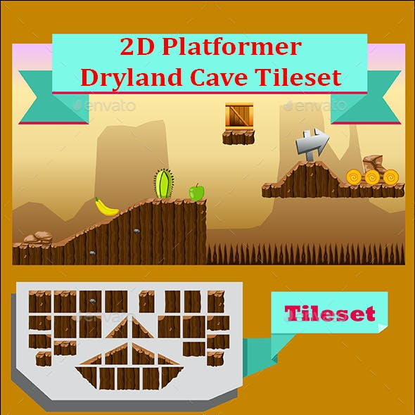 2D Platformer Graphics, Designs & Templates from GraphicRiver
