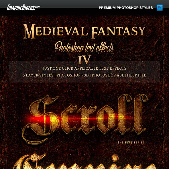 Medieval Fantasy Game Style Text Effects 4