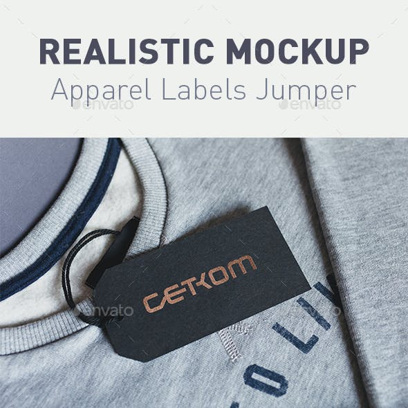6 RealistiClothing Labels Jumper