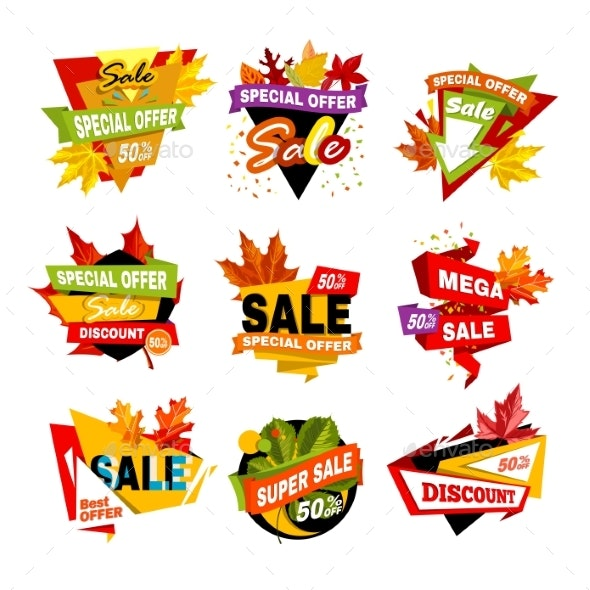 Special Offer Off Banner. Super Mega Sale - Retail Commercial / Shopping
