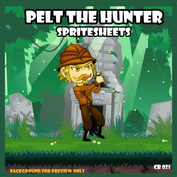 Game Asset : Pelt The Hunter