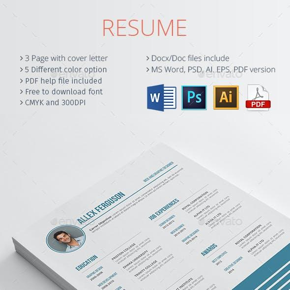 Zero Resume