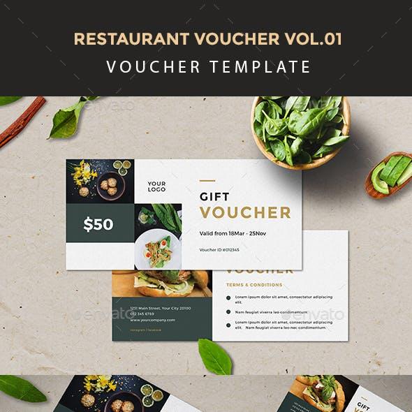 Restaurant Voucher