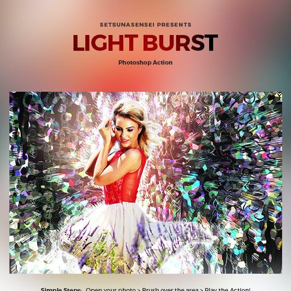 Light Burst Photoshop Action