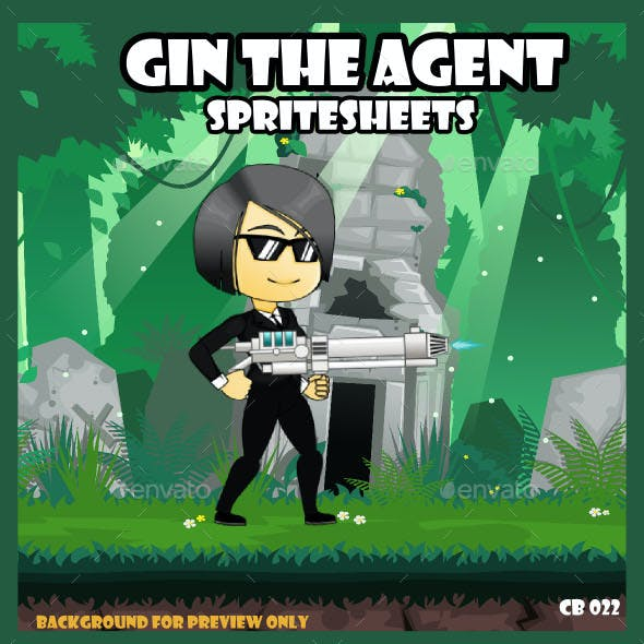 Game Asset : Girl Agent