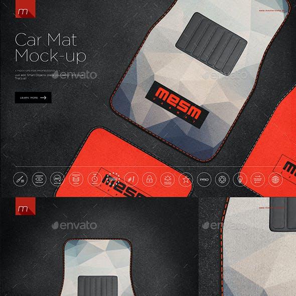 Car Mat Mock-up