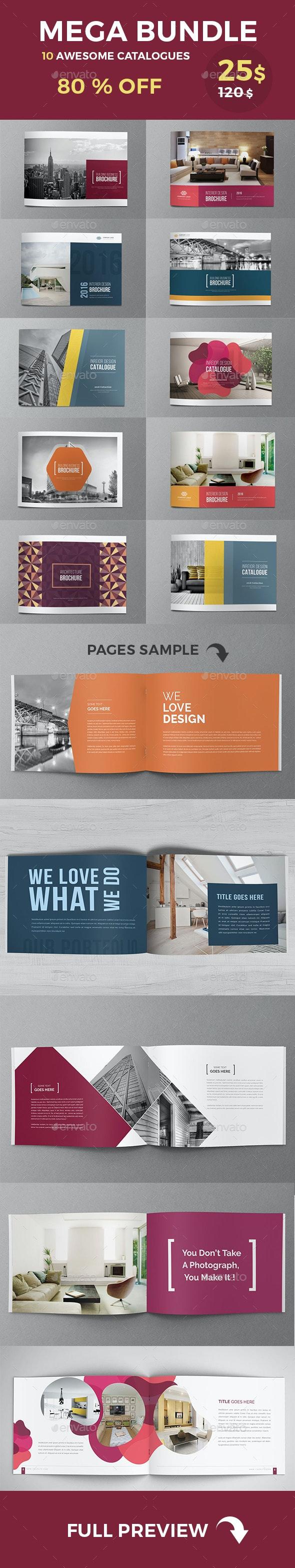 Mega Catalogs Brochures Bundle - Catalogs Brochures