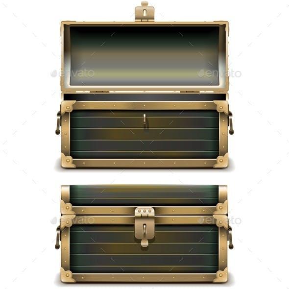 Vector Old Chest