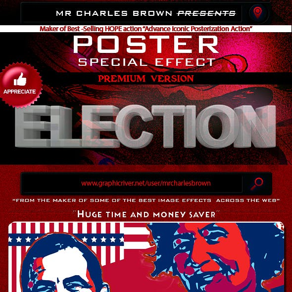 Election Poster Special Effect