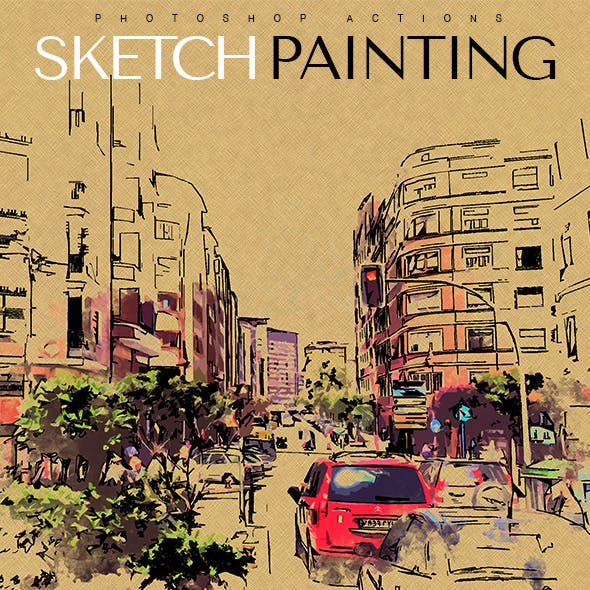 Sketch Painting