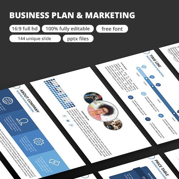 Business Plan - Google Slide