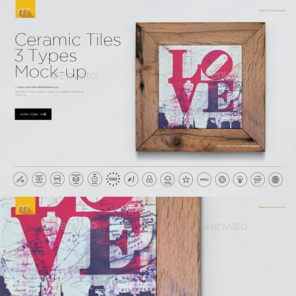 Ceramic Tiles Mock-up