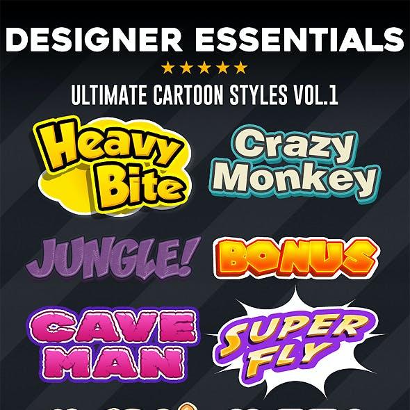 Designer Essentials Ultimate Cartoon Styles Vol.1