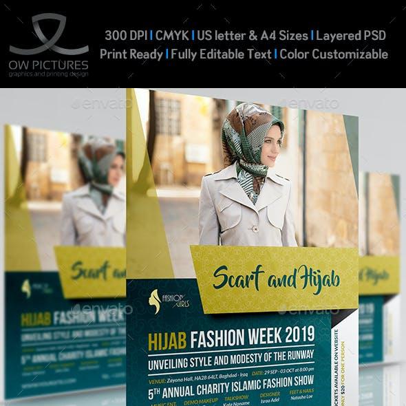 Hijab Fashion Flyer Template
