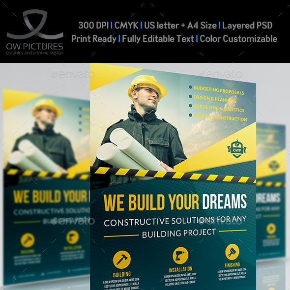 Construction Business Flyer Vol.4