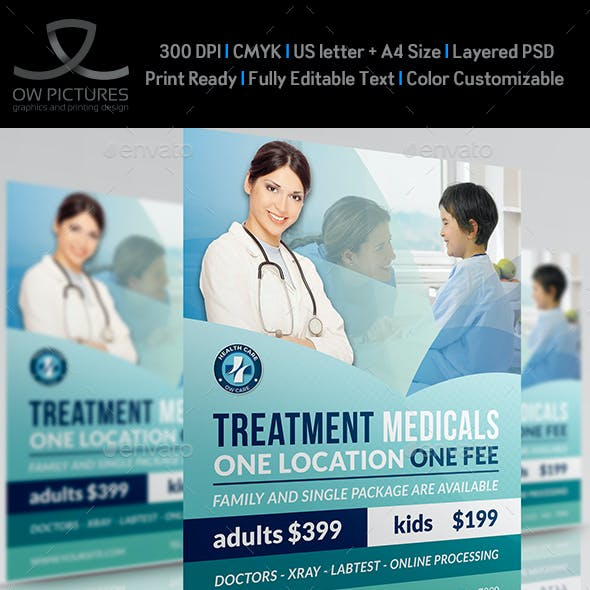Medical Flyer Template Vol.2