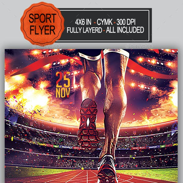 Athletic Competition Flyer